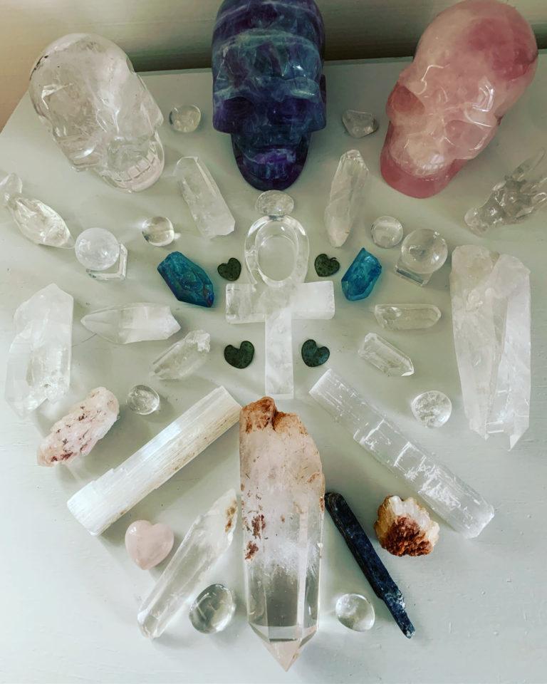 Gör din kristallgrid